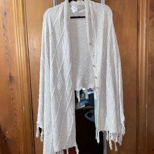 Lularoe Mimi wrap sweater